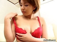 Japanese babe shares close ups of her spread pussy Uncensored
