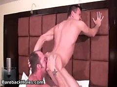 Extreme gay bareback fucking and cock gay video