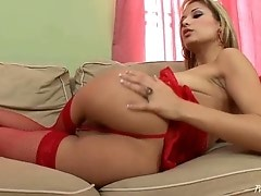Euro Babe Regina Opens Her Pussy Wide