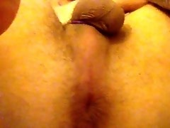 Teasing my tight hole!