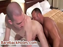 Brock gets his butt rimmed by fred mayer gay sex
