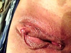 wet pussy close up
