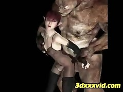 3D Elf Girls Fucked By Ogres!